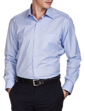 CLASSIC SPREAD COLLAR SHIRT WITH POCKET