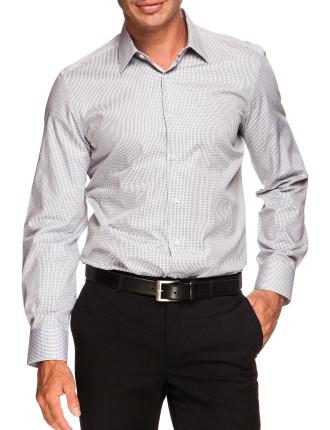 Check Extra Slim single cuff Shirt