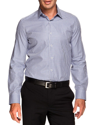 Check Classic Fit single cuff Shirt