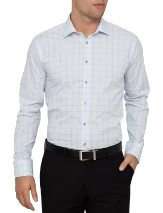 Check Single Cuff Slim Fit Shirt