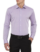 Check Single Cuff Slim Fit Shirt $89.95