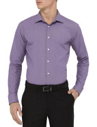Small Check Single Cuff Slim Fit Shirt $89.95