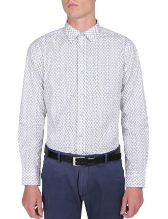 Mini Brush Spot Print Shirt