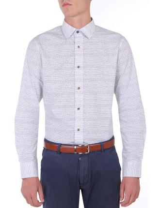Stitch Print Shirt