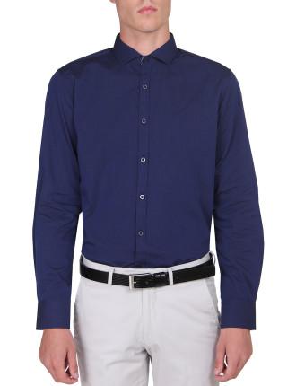 Plain Shirt W/Trim Detail