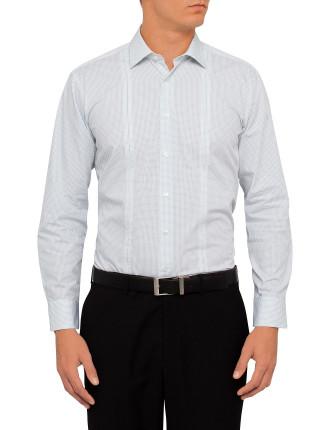 Dot Print Business Shirt