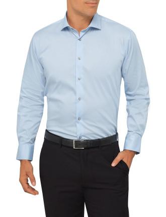 Slim Fit Cotton Spandex Business Shirt