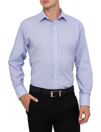Euro Fit Feather Stripe Shirt