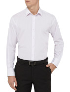 Euro Stripe Shirt With Contrast Stitching $69.95