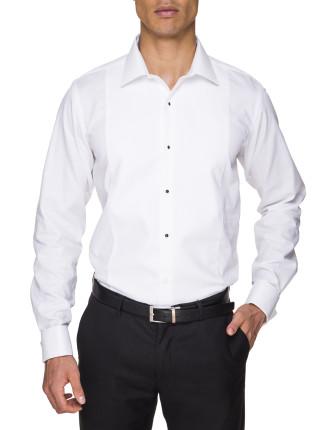 Slim Fit Marcella Peak Collar Stud Front Dinner Shirt