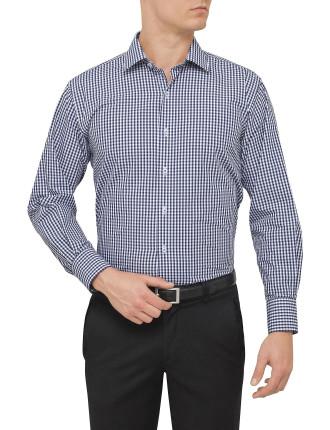 Mid Gingham Check Shirt