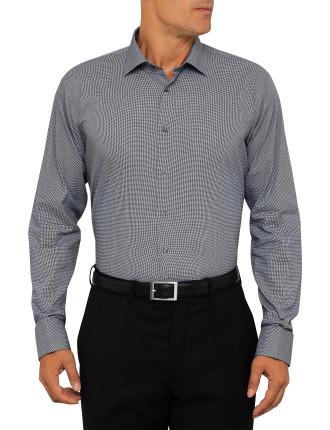 Ck Slim Fit Shirt  Micro Gingham Check