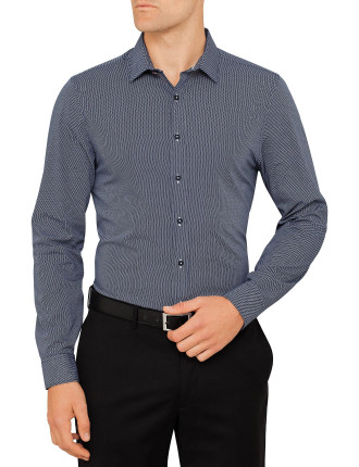 Micro Polka Dot Camden Super Slim Fit Shirt
