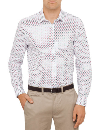 Geo Triangle Camden Super Slim Fit Shirt
