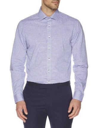 Two Toned Check Kings Formal Shirt