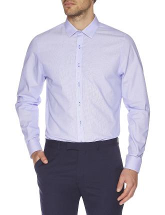 Micro Stripe Camden Super Slim Fit Shirt