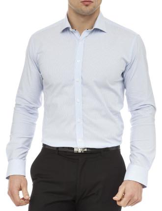 Rodriguez Fine Stripe Super Slim Fit Shirt