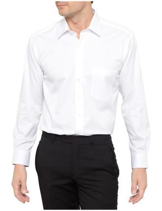 Fine Twill Single Cuff Non Iron Shirt