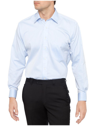 Fine Twill Fitted Non Iron Shirt