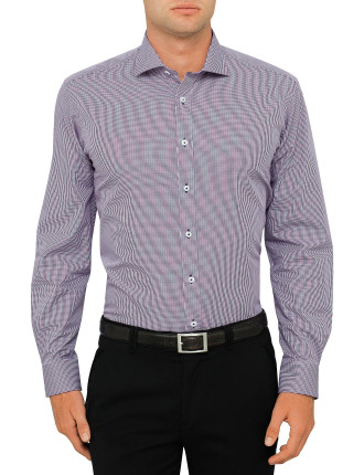 Verdi Check Regular Fit Shirt