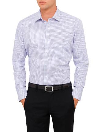 Vh Ls Classic Shirt Mini Check Lilac