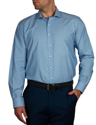 Snow Ball Dobby Slim Fit Shirt