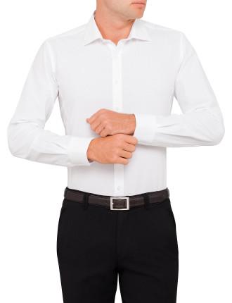 Bendel Bedford Horizontal Body Fit Shirt