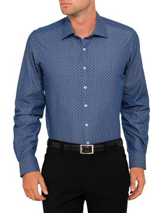 New Jersey Print Slim Fit Shirt
