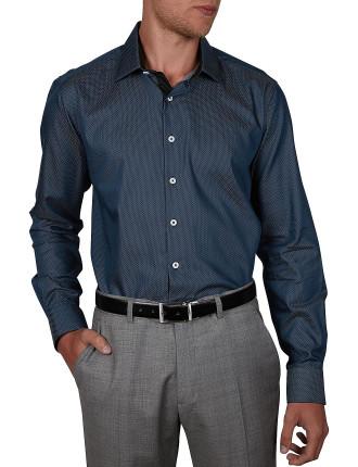 Genius Spot Dobby Body Fit Shirt
