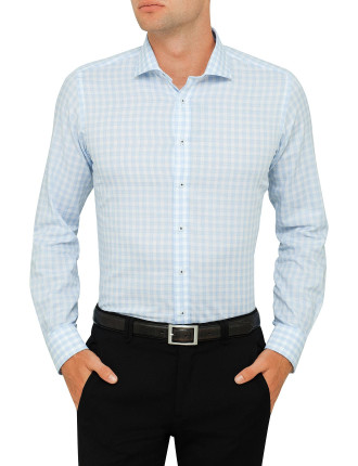 Don Carlos Check Slim Fit Shirt
