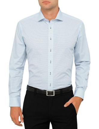Polibio Spot Print Classic Fit Shirt