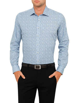 Tuscan Floral Print Slim Fit Shirt