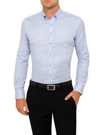 Trovatori Semi Solid Super Slim Fit Shirt