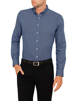 Petrach Print Super Slim Fit Shirt