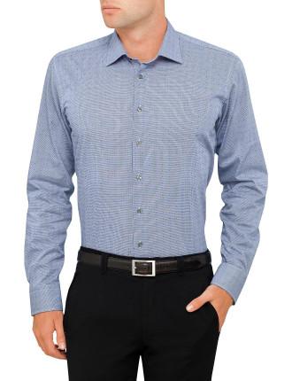 Dobby Spot Slim Fit Shirt