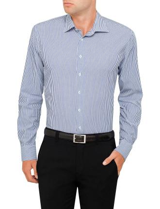 Crisp Stripe Slim Fit Shirt