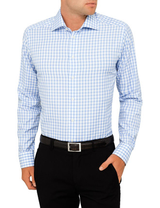 Signature Twill Check Slim Fit Shirt
