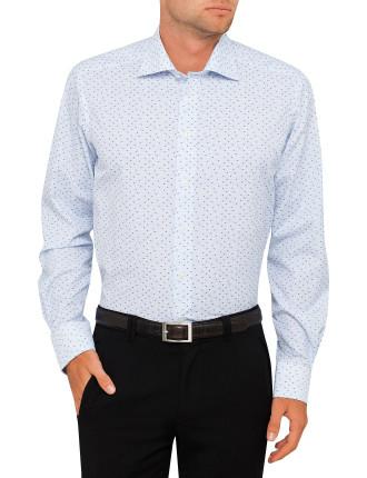 Bird Geo Print Regular Fit Shirt