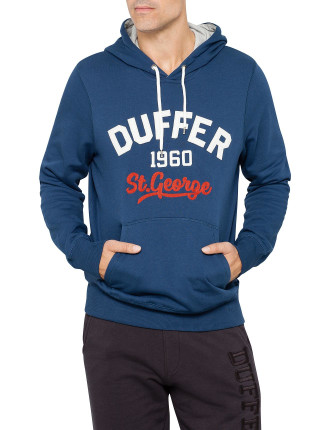 Champs Hooded Chest Print Sweat Top