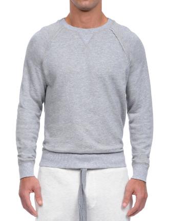 Terry Crew Neck Sweatshirt