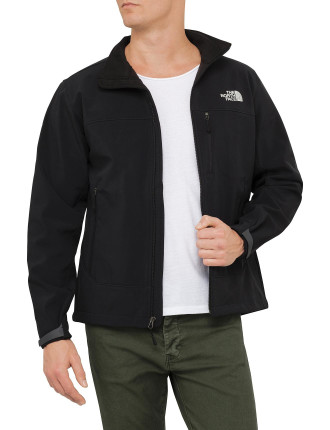 Long Sleeve Apex Bionic Poly Soft Shell Full Zip Jacket