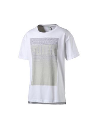 Short Sleeve Evo Longer Line Logo Tee