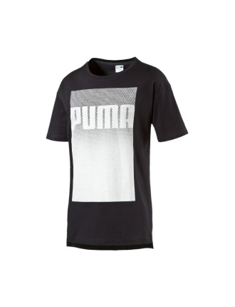 Short Sleeve Evo Football Logo Tee