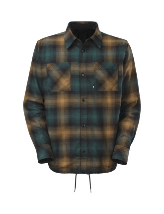 Fort Point Revers Plaid Shirt Jacket