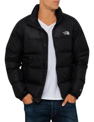 Nuptse Nylon Full Zip Down Jacket