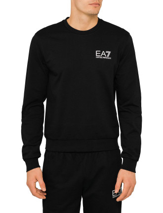 EA7 SWEAT BLACK