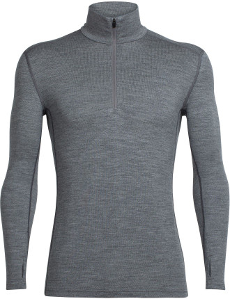MENS TECH TOP LS HALF ZIP