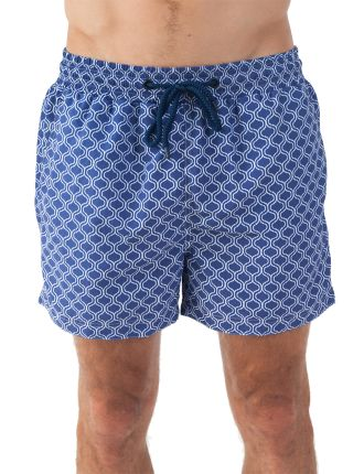 Pool Tiles Classic Swim Short