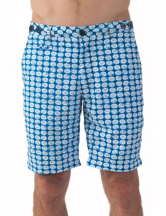 Batik Mid Length Swim Short