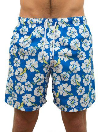 Sor - Hibiscus Mid Length Swim Short